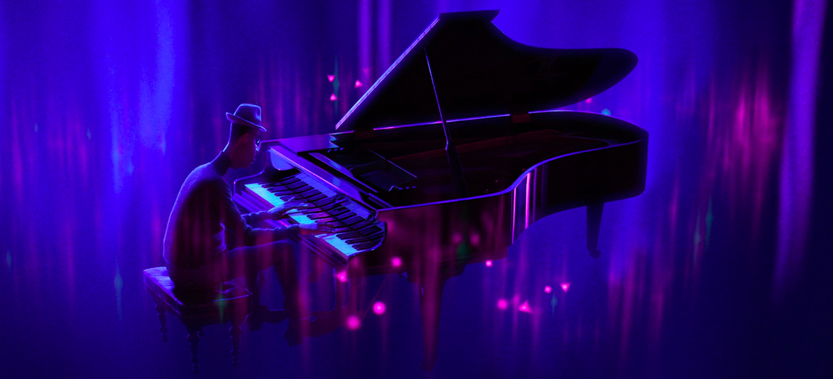 Pixar's Soul Clip: Joe Gardner Teaches Band and Tickles Ivories – /Film