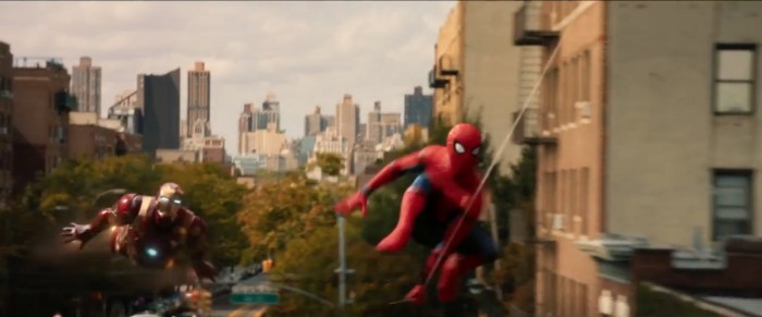 spider-man homecoming trailer 9