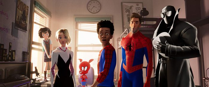 spider-man into the spider-verse reviews