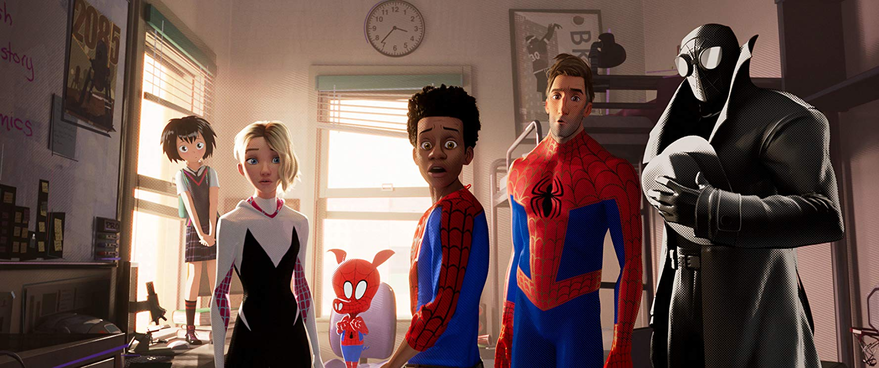 Spider Man Into The Spider Verse Analysis It S All About Art Film