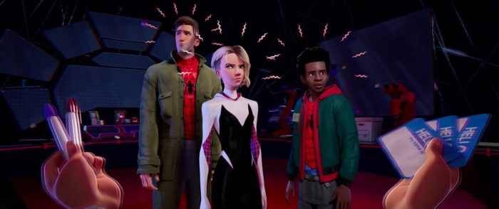 spider-man into the spider-verse clip