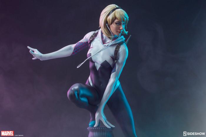 Spider-Gwen Statue - Mark Brooks