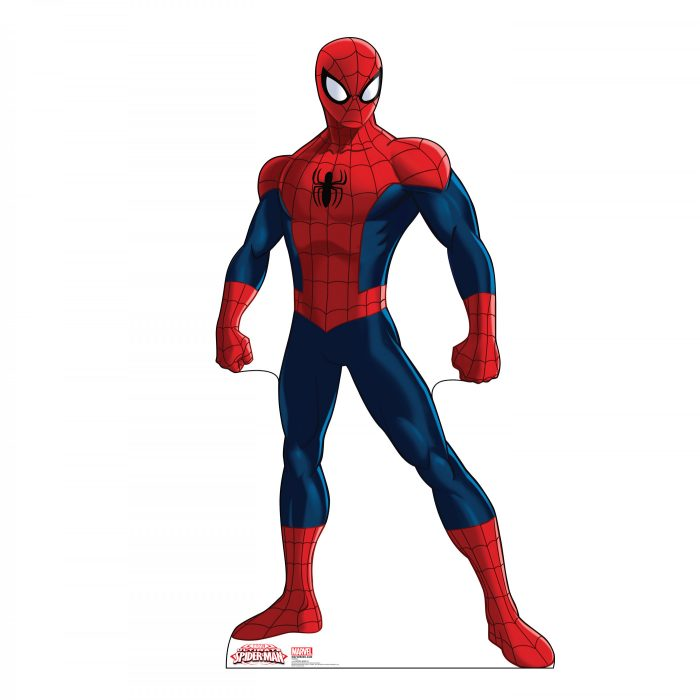 Spider-Man Animated Cardboard Stand-Up
