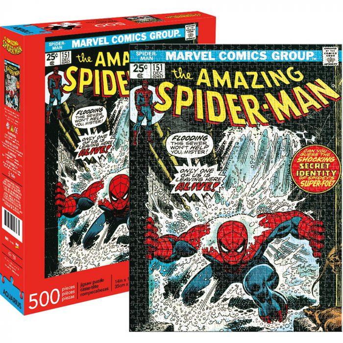 Spider-Man Comics Puzzle