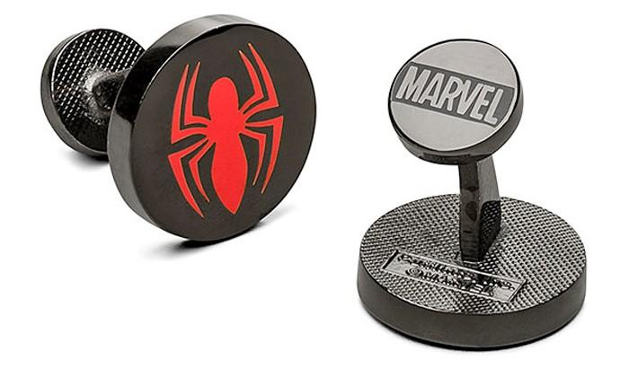 Spider-Man Cuff Links