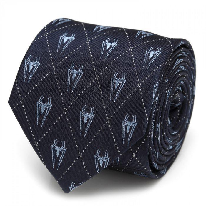 Spider-Man - Diamond Navy Tie