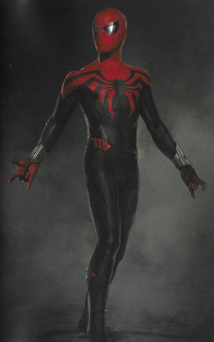 Spider-Man: Far From Home - Alternate Suit Concept Art
