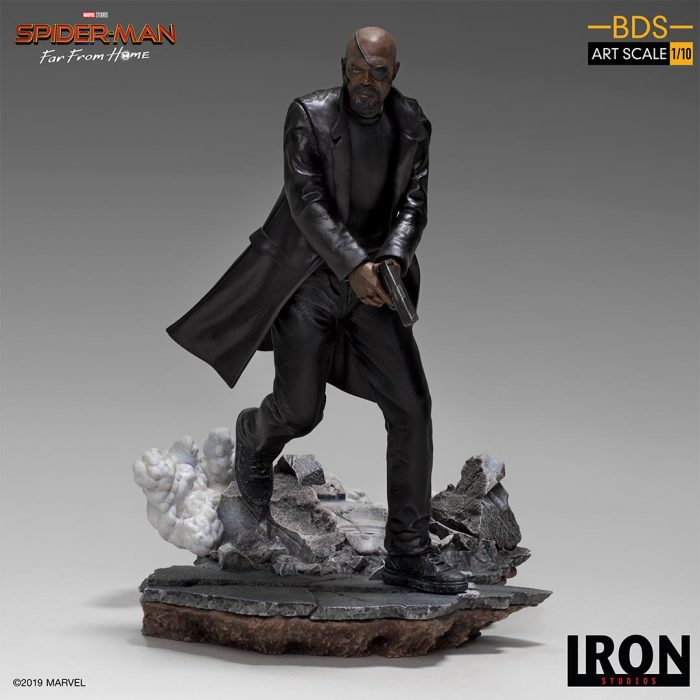 Spider-Man: Far From Home - Nick Fury Statue