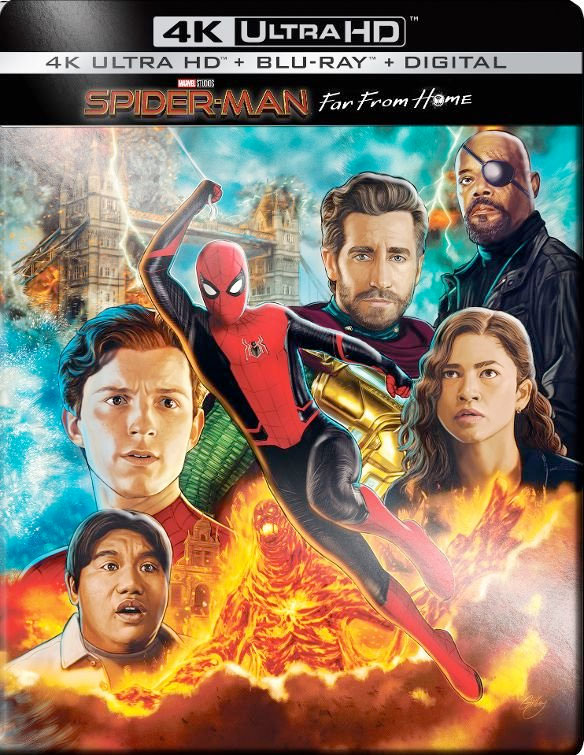 Spider-Man: Far From Home 4K Ultra HD Cover