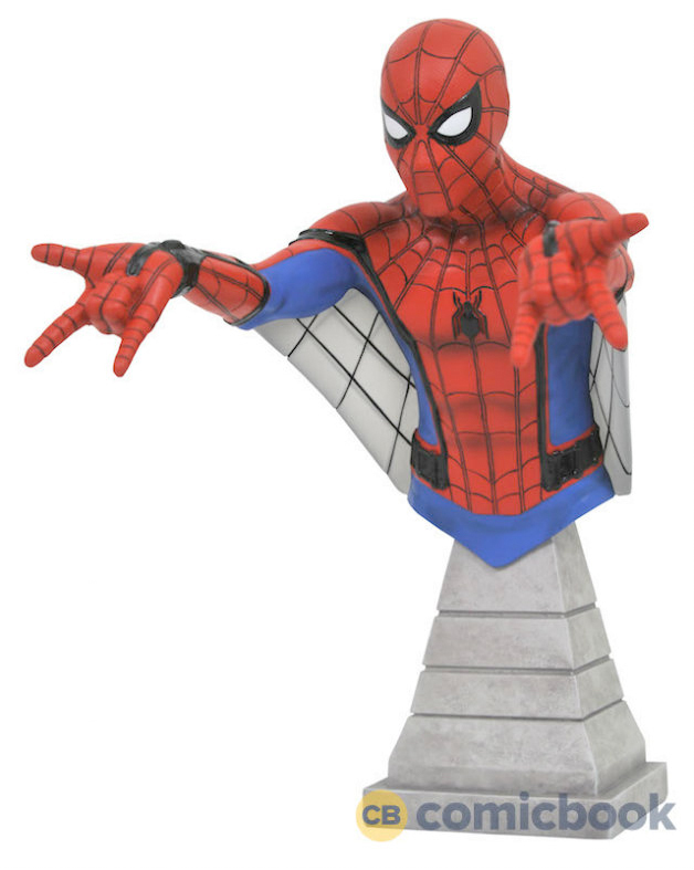 Spider-Man Homecoming Bust