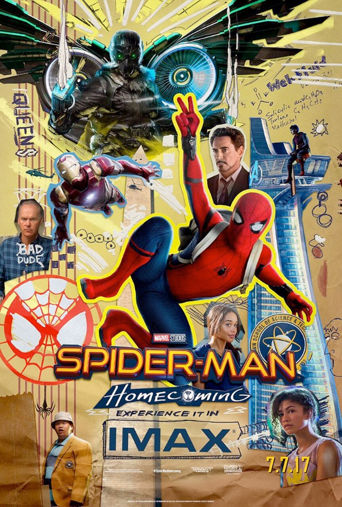 Spider-Man Homecoming IMAX Poster