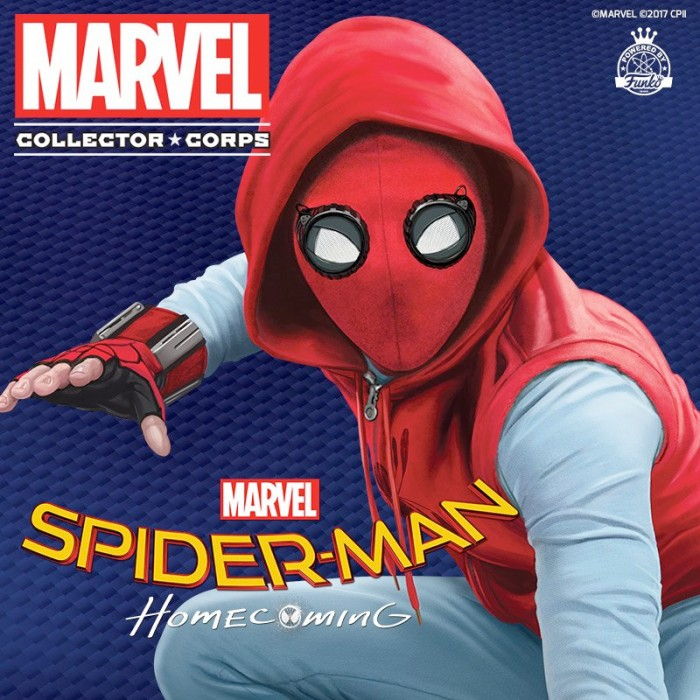 Spider-Man Homecoming - Marvel Collector Corps
