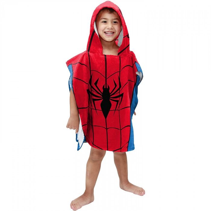 Spider-Man Hooded Poncho Towel