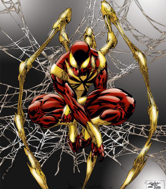 spiderman-ironsuit-comics