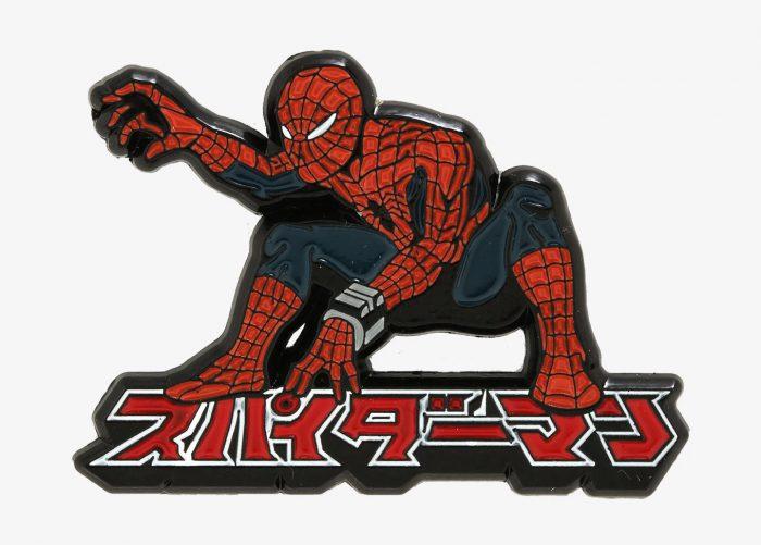 Japanese Spider-Man Enamel Pin