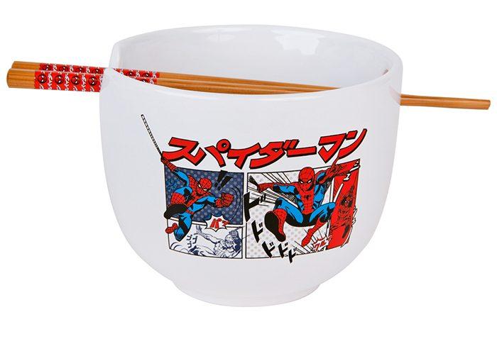 Spider-Man Manga Ramen Bowl