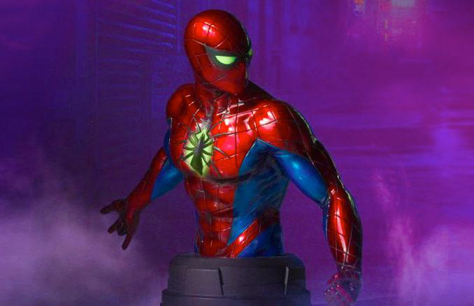 Spider-Man Mark IV Suit Bust