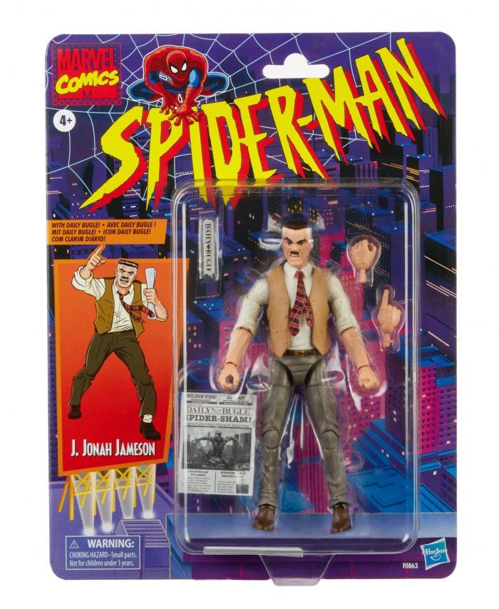 Spider-Man Marvel Legends Figure - J. Jonah Jameson