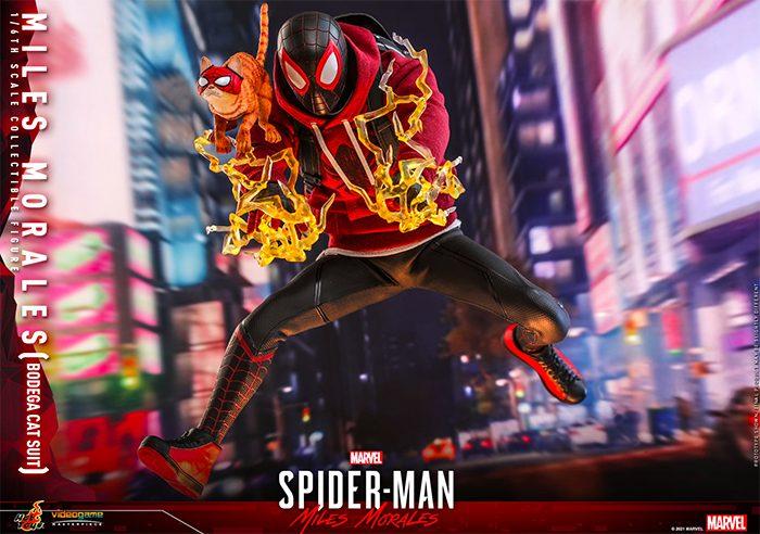 Spider-Man: Miles Morales - Bodega Cat Suit Hot Toys Figure