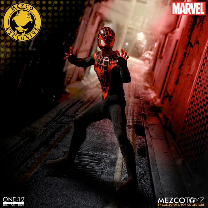 Miles Morales Spider-Man - Mezco Toyz Figure