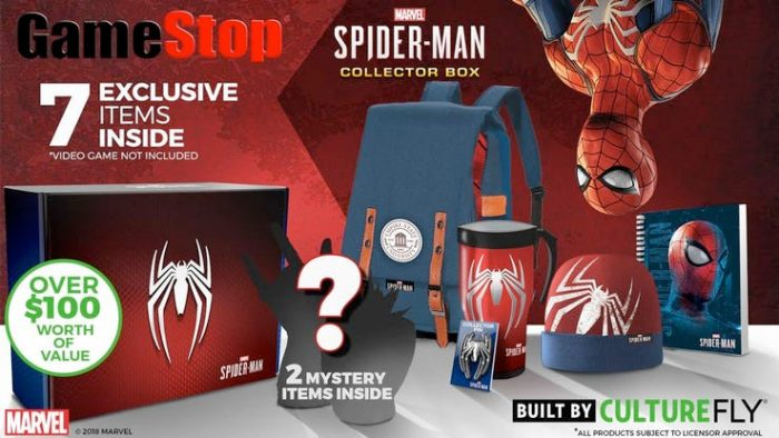 Spider-Man PlayStation 4 Collector's Box