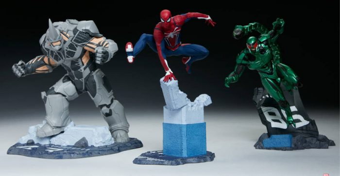 Spider-Man PlayStation 4 Statues