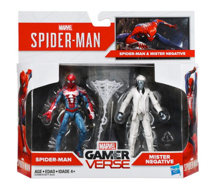 Spider-Man PS4 Action Figure Two-Pack