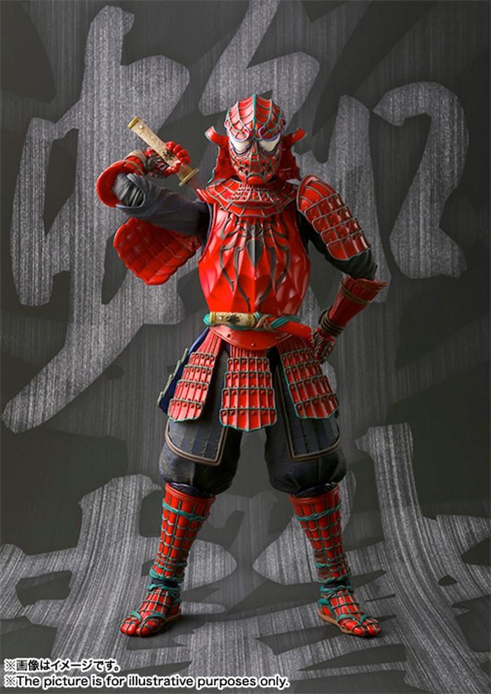spiderman-samurai-figure