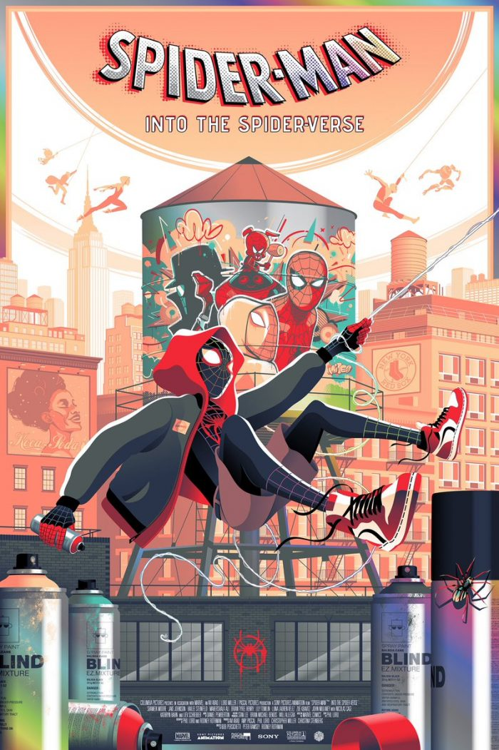 Guillaume Morellec - Spider-Man: Into the Spider-Verse