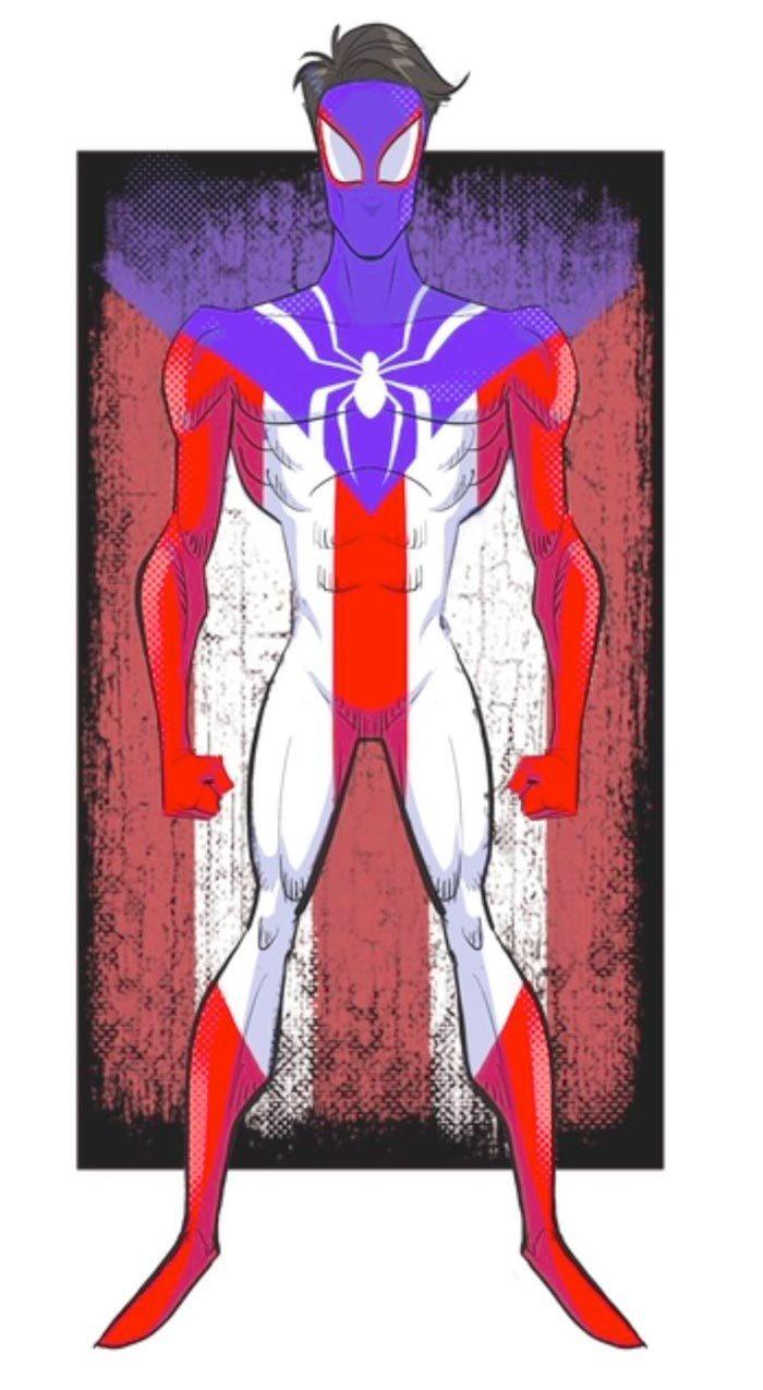 Lin-Manuel Miranda as Spider-Man: Into the Spider-Verse Character