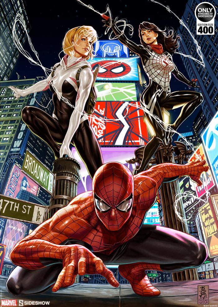 Spider-Man Spider-Verse Print by Mark Brooks