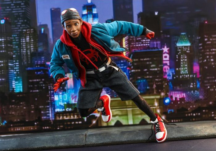 Spider-Man: Into the Spider-Verse Miles Morales Hot Toys Figure