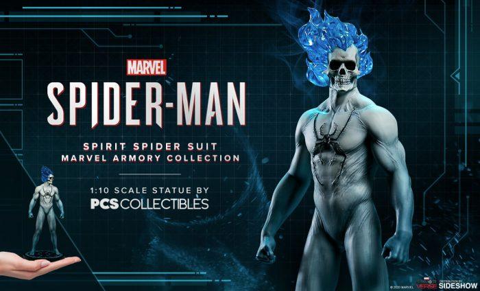 Spirit Spider-Man Statue