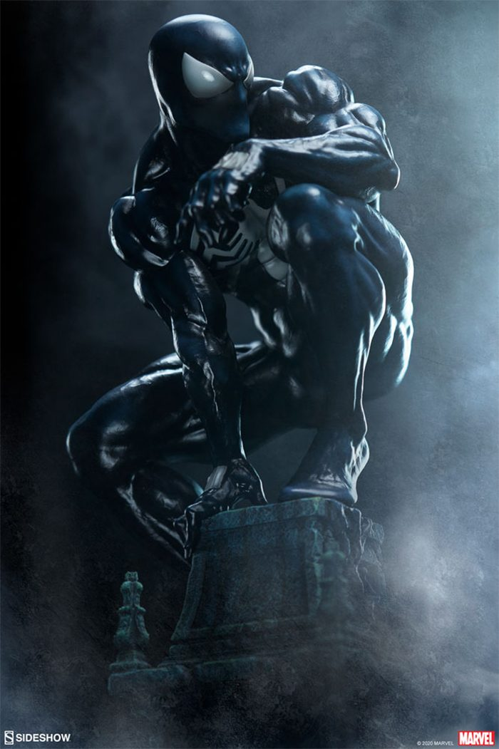Symbiote Spider-Man Sideshow Collectibles Statue