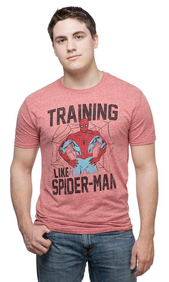 spiderman-training-shirt