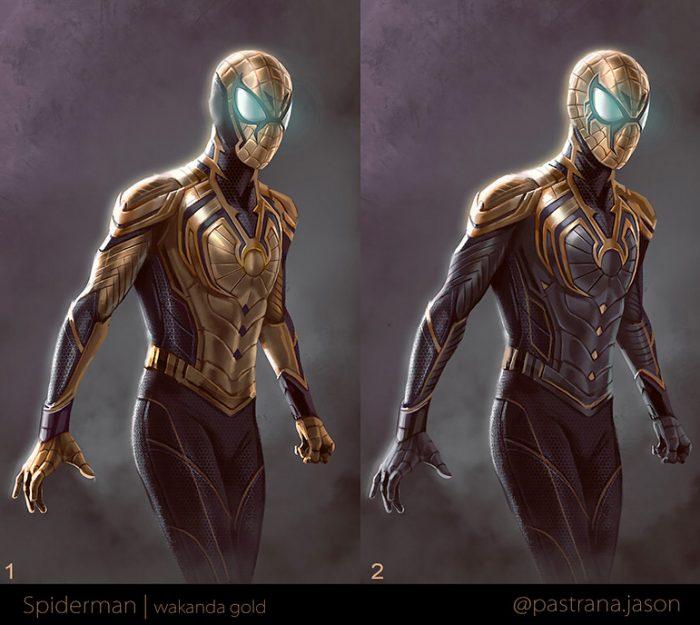 Spider-Man Vibranium Suit - Fanmade