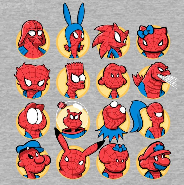 Spider-Man - Anybody Can Wear the Mask Shirt
