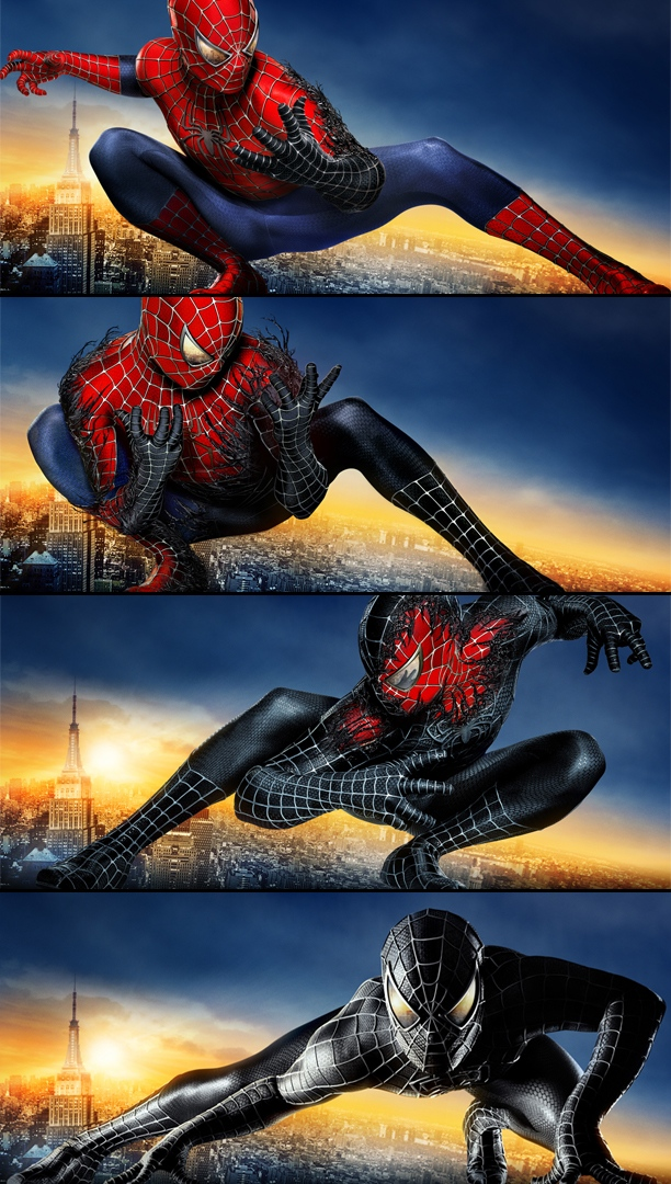 spider man 3 bus posters film