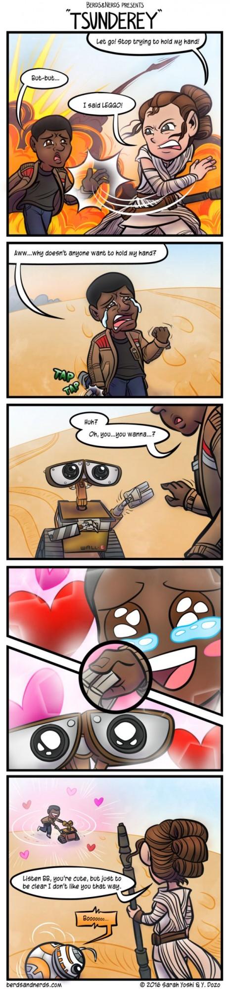 star wars hand comic