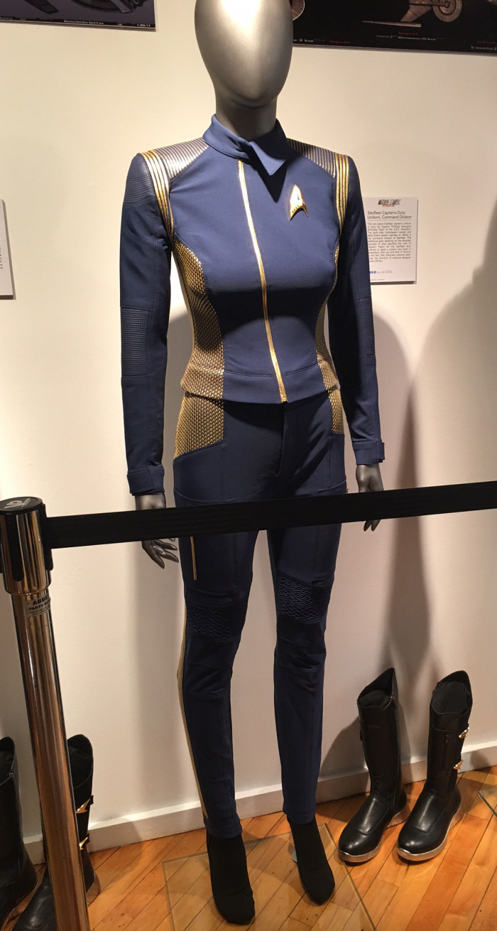 Star Trek Discovery Captains Duty Command Division