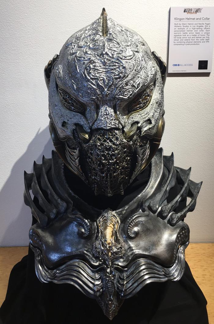 Star Trek Discovery Klingon Helmet