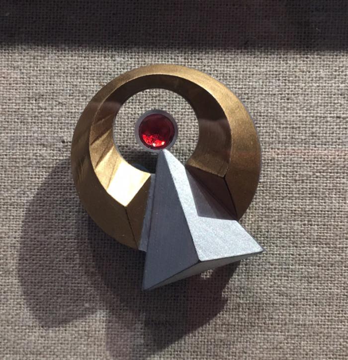 Star Trek Discovery Vulcan IDIC Pendant