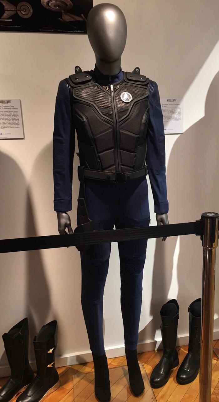 Star Trek Discovery Starfleet Tactical Jumpsuit and Vest
