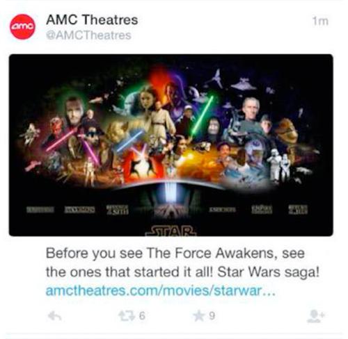 Star Wars - AMC Theatres
