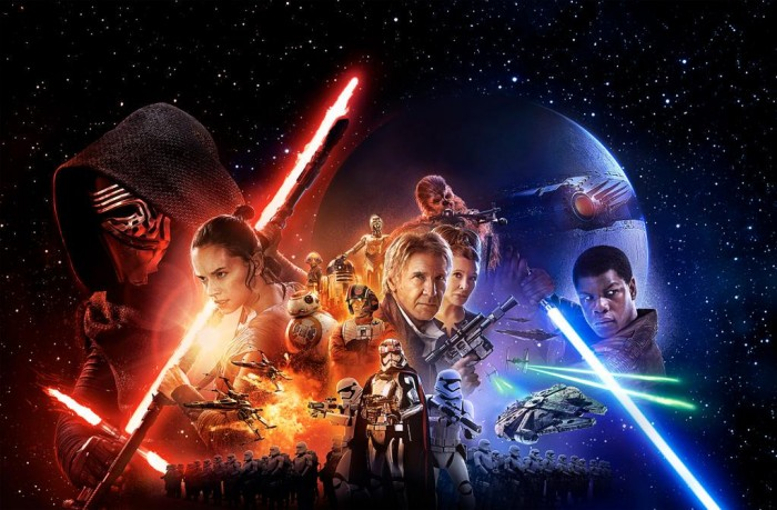 The Force Awakens Poster - Banner Style