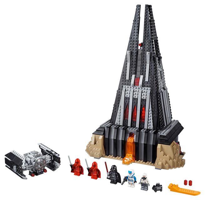 Darth Vader Castle LEGO Set