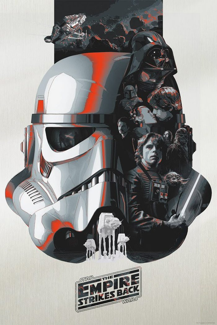 Devin Schoeffler's Star Wars Trilogy Posters