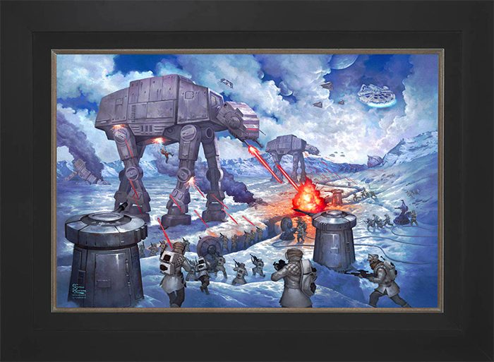 The Empire Strikes Back Canvas Art