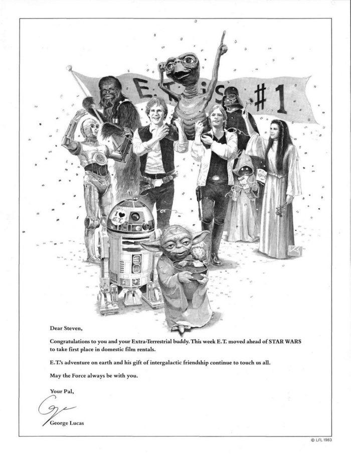 Star Wars E.T. Box Office Ad
