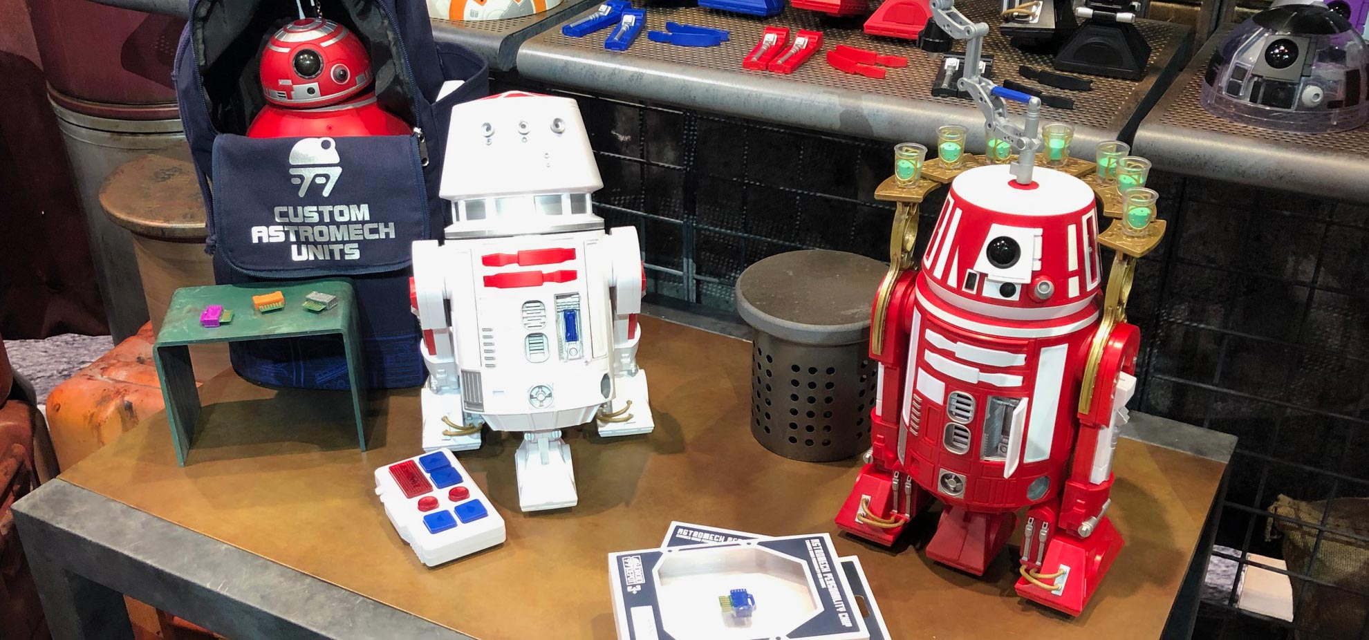 Star Wars Galaxys edge droids